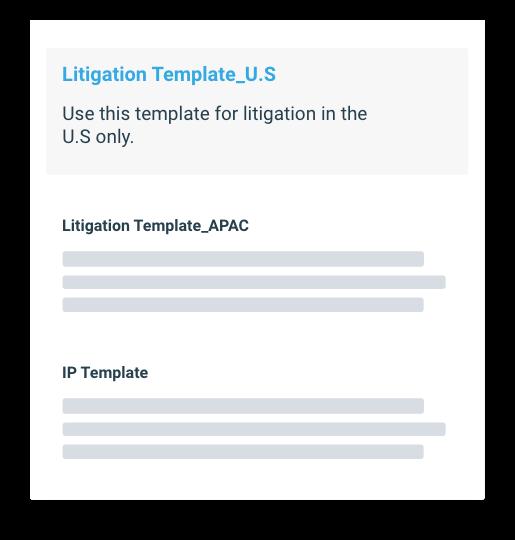 corporate legal knowledge management platform