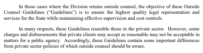 Outside Counsel Guidelines 3