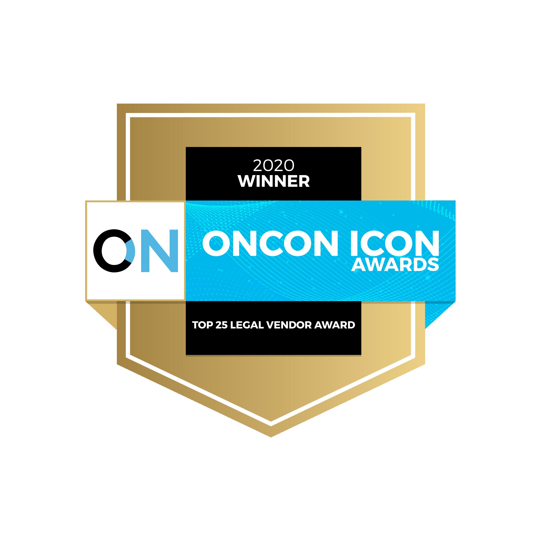 Top 25 Legal Vendor Award Badge