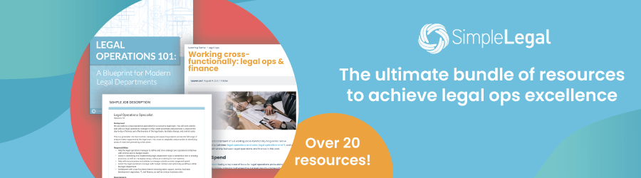 Legal ops success kit- the ultimate bundle of resources to achieve legal ops excellence